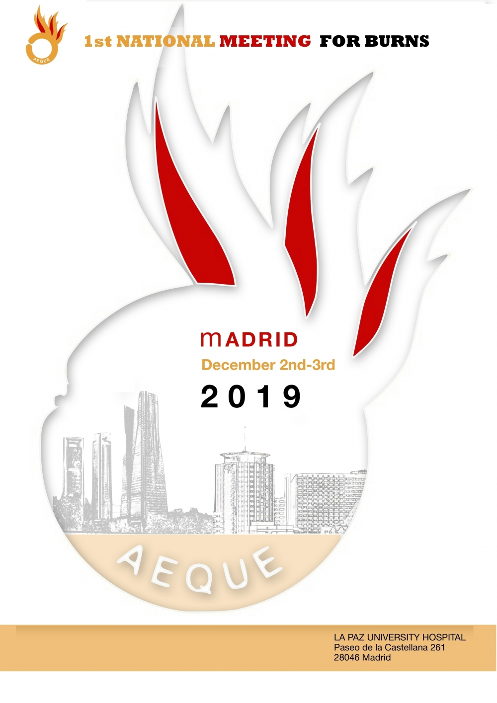 Welcome... - 1st SPANISH NATIONAL MEETING FOR BURNS AEQUE 2019